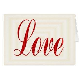 Love 2 card