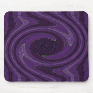 purple swirl mousepad