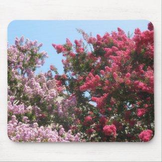 flowering trees mousepad