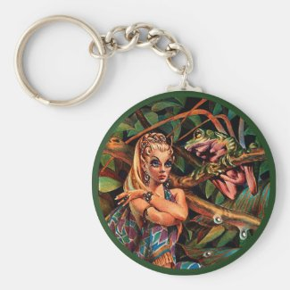 Elf Princess Keychain keychain