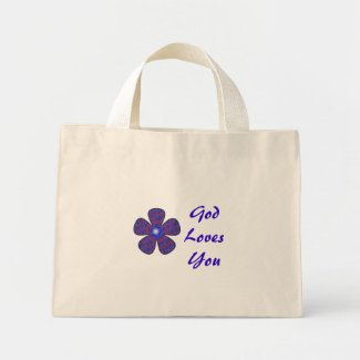God Loves You bag