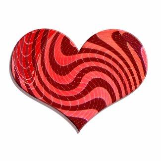 groovy heart bag