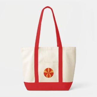 mystery orange bag