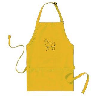 Sheep Butcher Apron