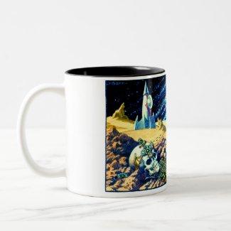 Alien Archeology Mug mug