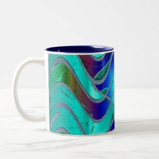 Turqouise Glow mug