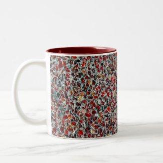 glass sprinkles photo mug