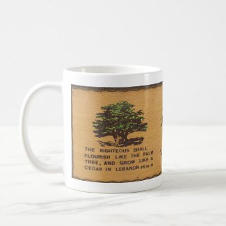 Cedar of Lebanon Coffee Mug mug