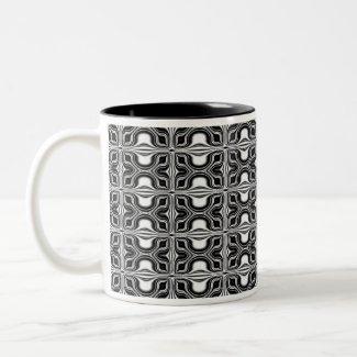 timeless black&white mug
