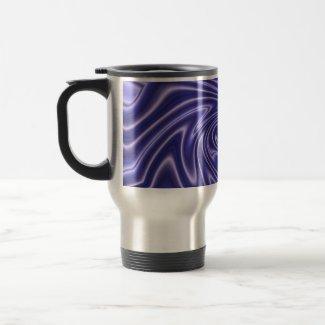 glow blue mug