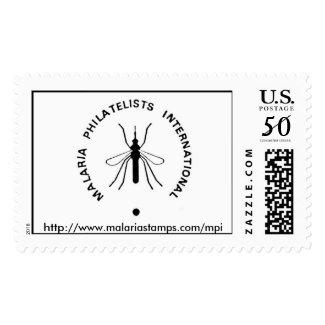 Malaria Philatelists International Stamps Logo URL stamp