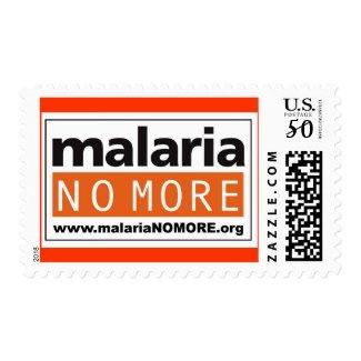 Malaria No More stamp
