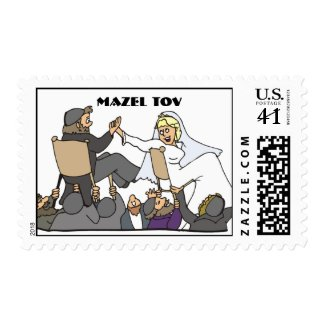 Jewish Wedding Stamp  stamp
