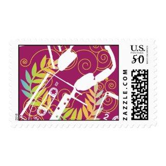 casette design stamp