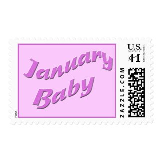 january baby 3 stamp
