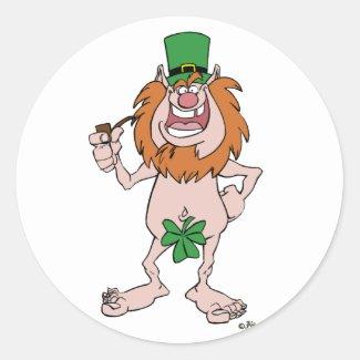 St Patrick's Day sticker sticker