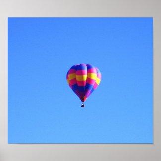 Flying high print