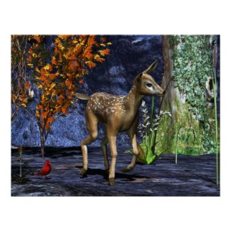 The Fawn print
