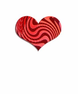 groovy heart shirt