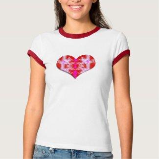wild red heart shirt