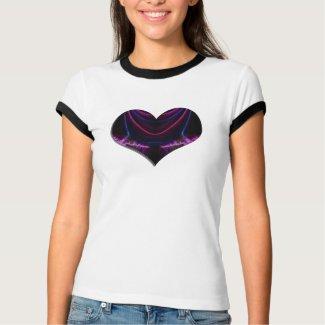 heart glow 2 shirt