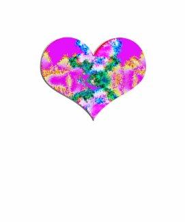 pretty pink heart shirt