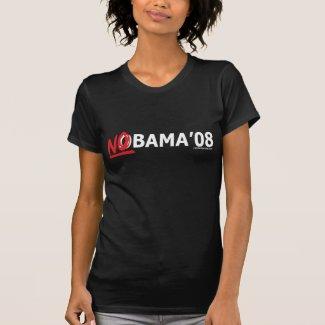 NObama '08 T-Shirt shirt