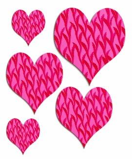 pink vine heart shirt
