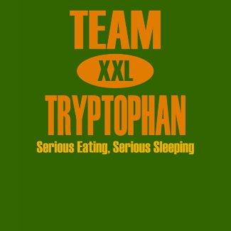Team Tryptophan shirt