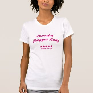 Powerful Blogger Lady T-Shirt shirt