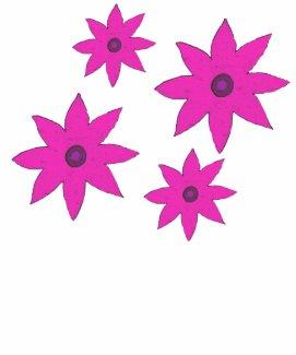 pink flowers shirt