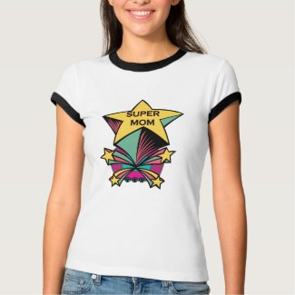 Super Mom t-shirt shirt
