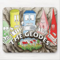 The Geodes Mouse Pad mousepad