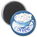 Clouds in My Coffee Magnet