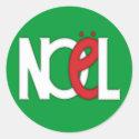 Noel Green Sticker