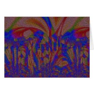 dark garden card