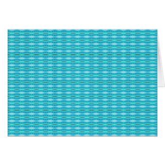 Turquoise Pattern card