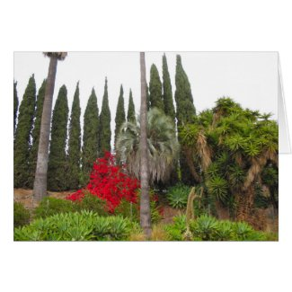West Hollywood Garden card