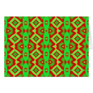 wild red green card