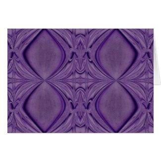 purple diamonds card