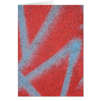 red grey paint card