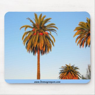 Sunny Palm Trees Mousepad