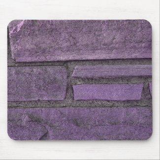 purple stones mousepad