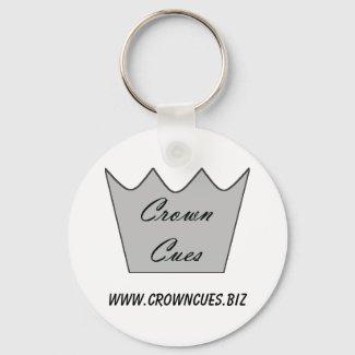 Crown Cues Keychain