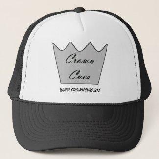 Crown Cues Baseball or Trucker's Hat