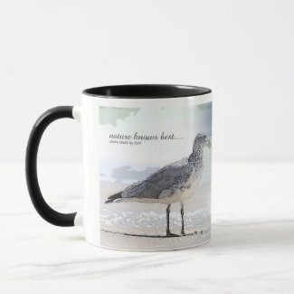 nature knows best mug