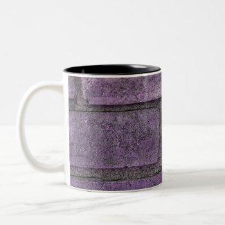 purple stones mug