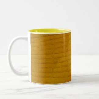 yellow in the city- coffee mug