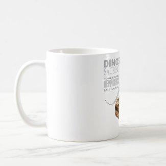 saurus jurassic mug