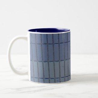 blue wall mug